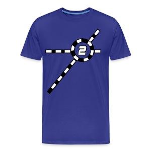 Blue Exceler 2 - Men's Premium T-Shirt