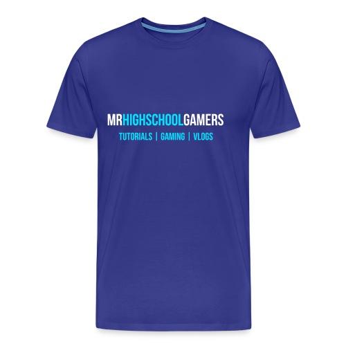 Logo and Sub-heading - Men's Premium T-Shirt