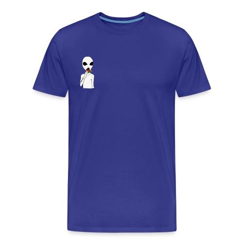 Hungry alien - Men's Premium T-Shirt