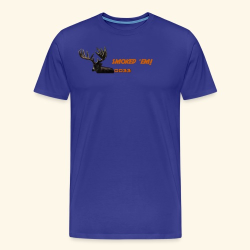 smoked 'em orange - Men's Premium T-Shirt