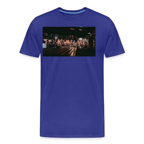 oskar james - Men's Premium T-Shirt