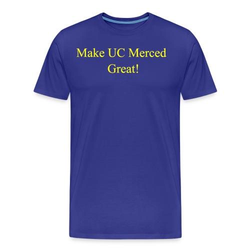 Make UC Merced Great! - Men's Premium T-Shirt