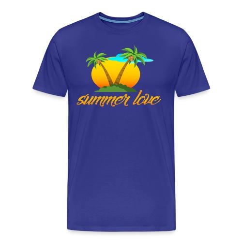 Summer Love Collection - Men's Premium T-Shirt