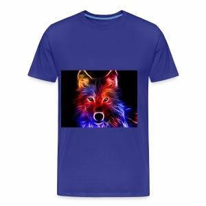 fire wolf - Men's Premium T-Shirt