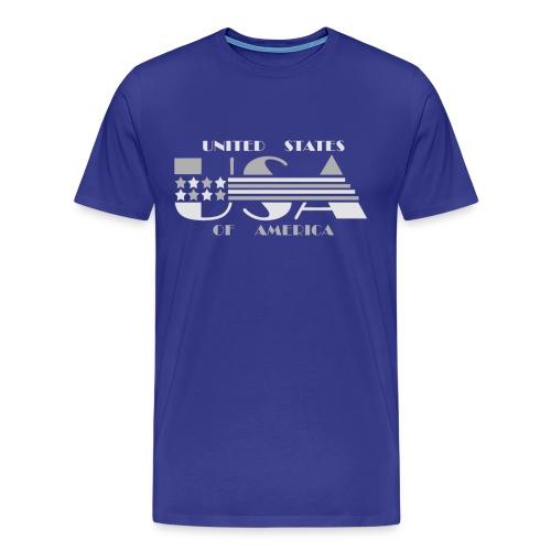 USA - The United States Of America - Men's Premium T-Shirt