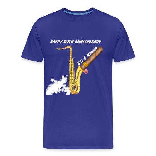 Happy 20th Anniversary Bill and Monica!! - Men's Premium T-Shirt