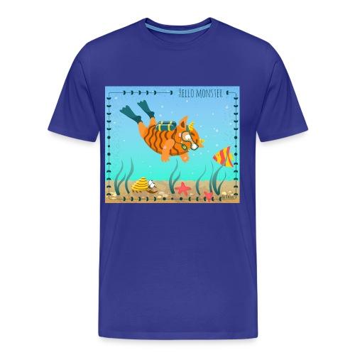 Monster diver - Men's Premium T-Shirt