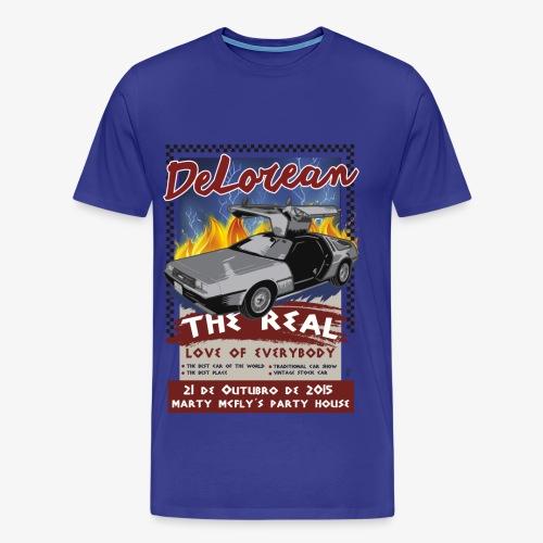 Super Delorean - Men's Premium T-Shirt