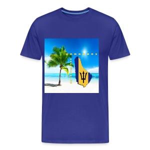 Barbados Good Morning - Men's Premium T-Shirt
