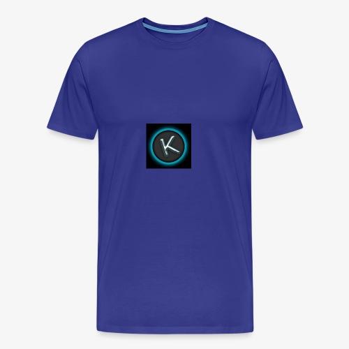 K Logo - Men's Premium T-Shirt