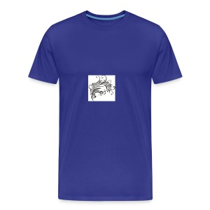 Floral Design 4 - Men's Premium T-Shirt