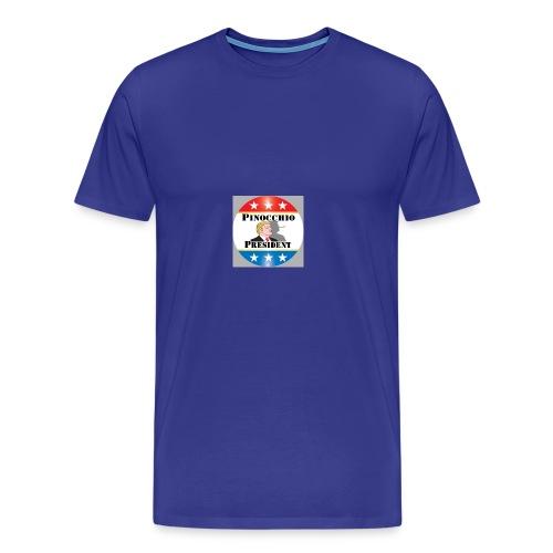 Pinocchio President - Men's Premium T-Shirt