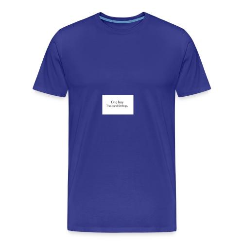 One boy - Men's Premium T-Shirt