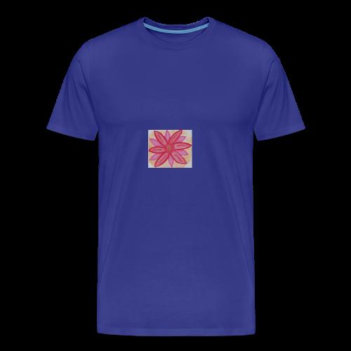 RedPinkFlower - Men's Premium T-Shirt
