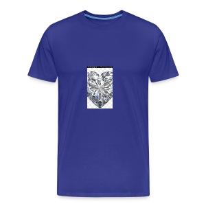 Heart diamond - Men's Premium T-Shirt