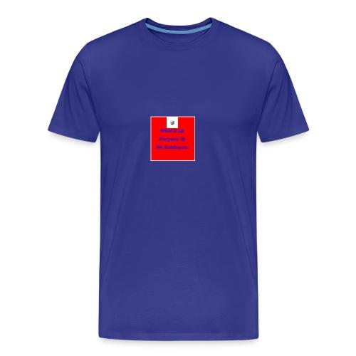 RobRoyale's First Shirt - Men's Premium T-Shirt