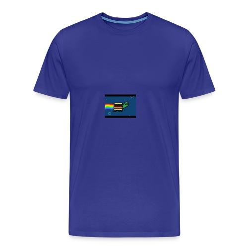 nyan turtles - Men's Premium T-Shirt