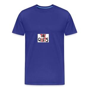 quits logo - Men's Premium T-Shirt