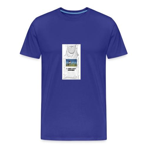 CAN FLY HIGHER TEESHIRT - Men's Premium T-Shirt