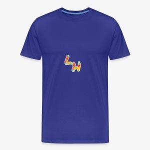 Los Hermanos Logo - Men's Premium T-Shirt