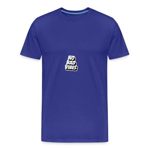 NO BAD VIBES - Men's Premium T-Shirt