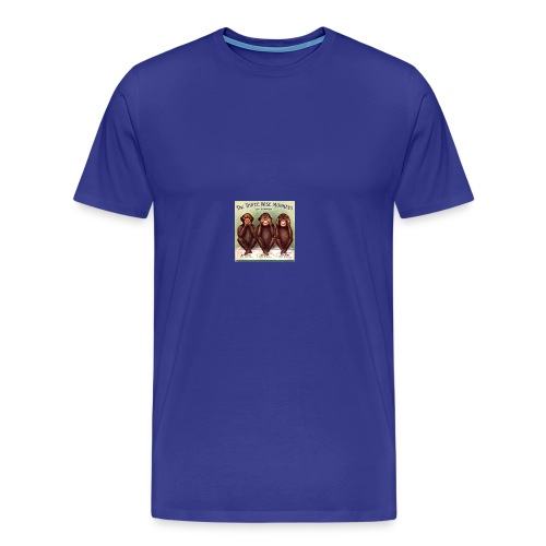 Moral monkeys - Men's Premium T-Shirt