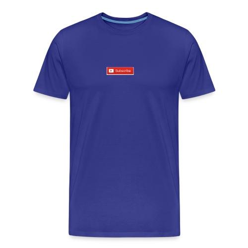 YOUTUBE SUBSCRIBE - Men's Premium T-Shirt