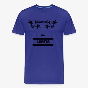 Racer black - Men's Premium T-Shirt