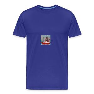 Simpsons lil boat - Men's Premium T-Shirt