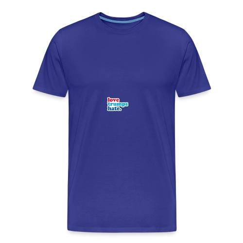 Love Trumps Hate - Men's Premium T-Shirt