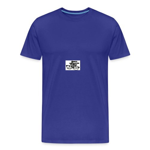 main index 2020 vision logo glasses copy - Men's Premium T-Shirt