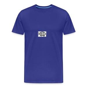 atheist fish web - Men's Premium T-Shirt