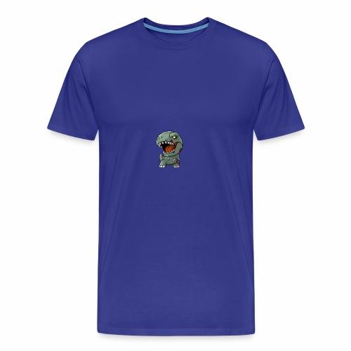 Zombie memeosauraus - Men's Premium T-Shirt
