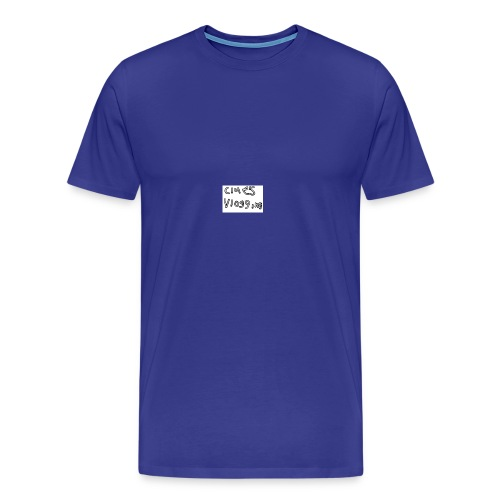 Clue's vlogging official merch - Men's Premium T-Shirt