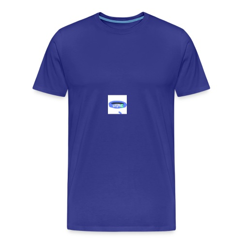 ShyhB (Blue) Wristband - Men's Premium T-Shirt