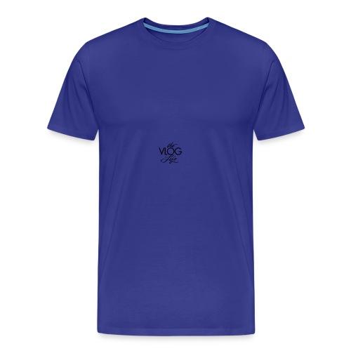 Kusshaal Vlogs - Men's Premium T-Shirt
