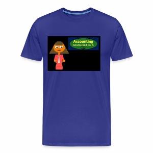 Accounting Instruction - Men's Premium T-Shirt