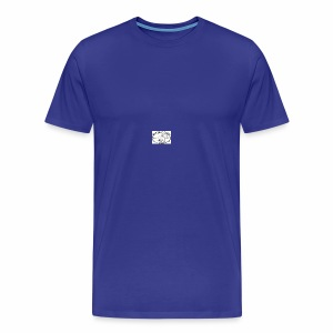 Canoes of the marshall islands - Men's Premium T-Shirt