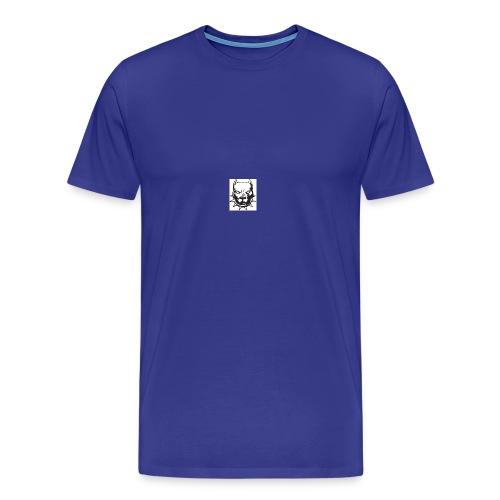 T-shirt for mans with pitbull logo - Men's Premium T-Shirt