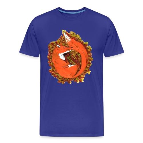 Sleepy fox - Men's Premium T-Shirt