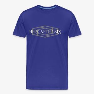 Here After Six Logo - Men's Premium T-Shirt