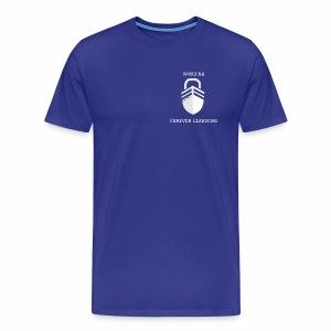 WWCFNA Forever learning white - Men's Premium T-Shirt