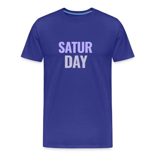 Saturday Days of the Week T-Shirt - Men's Premium T-Shirt