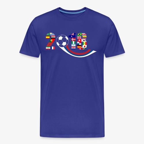 World Football Soccer Championship 32 Countries - Men's Premium T-Shirt