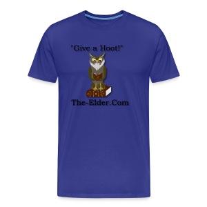 Give a Hoot - Men's Premium T-Shirt