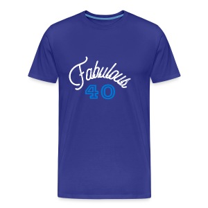 Fabulous 40 - Men's Premium T-Shirt