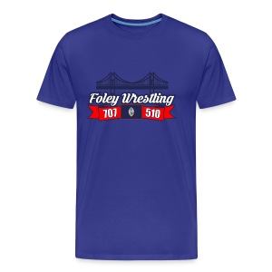 Foley Wrestling - Men's Premium T-Shirt