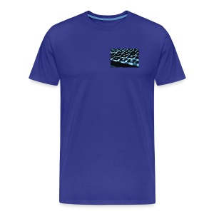 Glowing Keyboard - Men's Premium T-Shirt