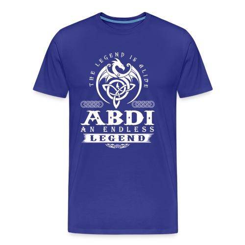 ABDI - Men's Premium T-Shirt