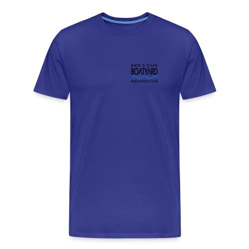 Rick's Boatyard Logo - Men's Premium T-Shirt